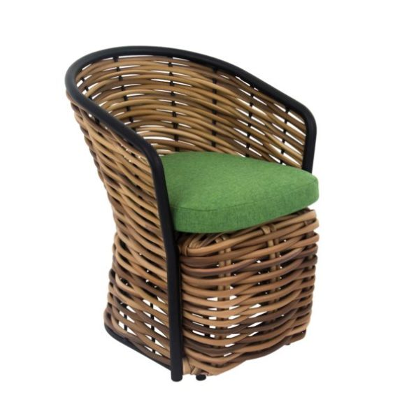 Katewell-Apple_Bee_Cocoon_Dining_Arm_Chair